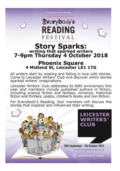 Leicester Writers' Club Story Sparks for Everybody's Reading